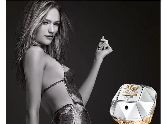 Perfume Feminino Lady Million Lucky Paco Rabanne Eau de Parfum 80mL - 3