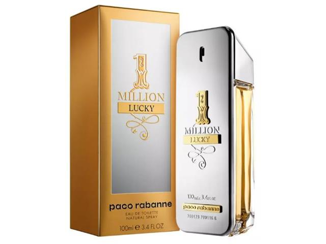 Perfume Masculino 1 Million Lucky Paco Rabanne Eau de Toilette 100mL - 1