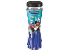 Conjunto de Talheres Tramontina Munique Azul 24 Peças - 1