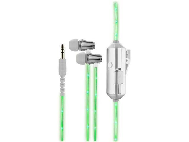 Fone de Ouvido Multilaser Luz de LED Verde