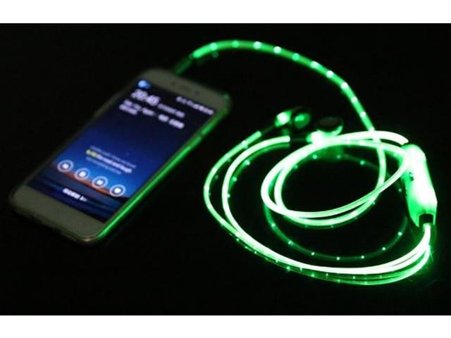Fone de Ouvido Multilaser Luz de LED Verde - 2