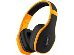 Headphone Multilaser Pulse Over Ear com Microfone Integrado Amarelo