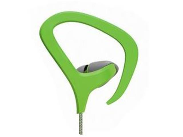 Fone de Ouvido Multilaser Earhook Cabo de Nylon com Microfone Verde - 2