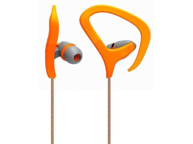 Fone de Ouvido Multilaser Earhook Cabo de Nylon com Microfone Laranja