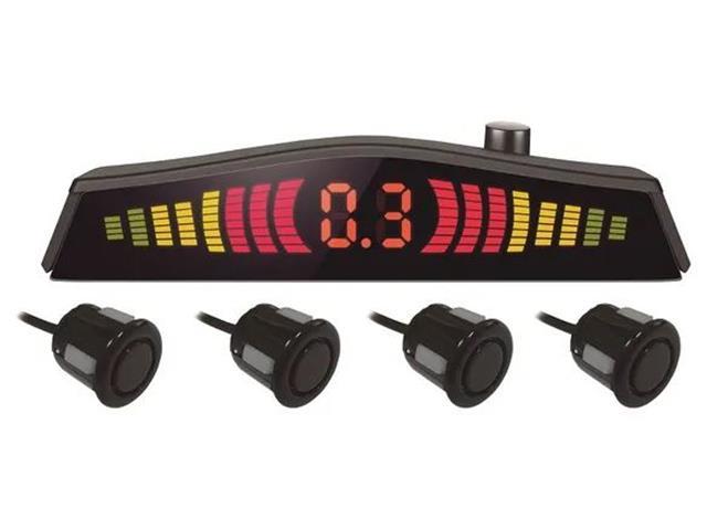 Sensor de Estacionamento Mutilaser com Led 4 pontos Preto