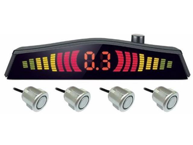 Sensor de Estacionamento Mutilaser com Led 4 pontos Metálico