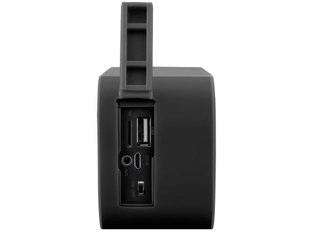 Caixa de Som Bluetooth Multilaser Pulse Speaker Preta 10w - 1