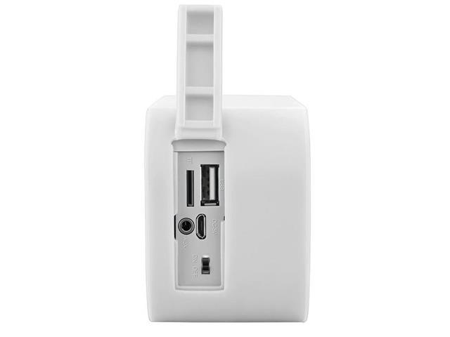Caixa de Som Bluetooth Multilaser Pulse Speaker Branca 10w - 1