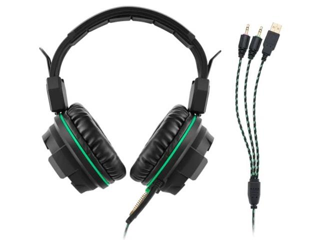 Headphone Gamer Multilaser USB Led Ligth Green - 1