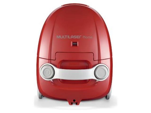 Aspirador de Pó Multilaser com Alcance de 3 Mts Vermelho 1400W 110V - 2