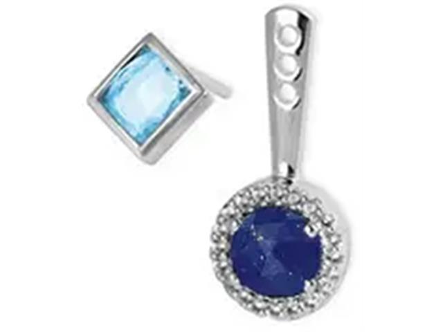Brinco Vivara Life My Stone Lápis Lazuli e Topázios - 3
