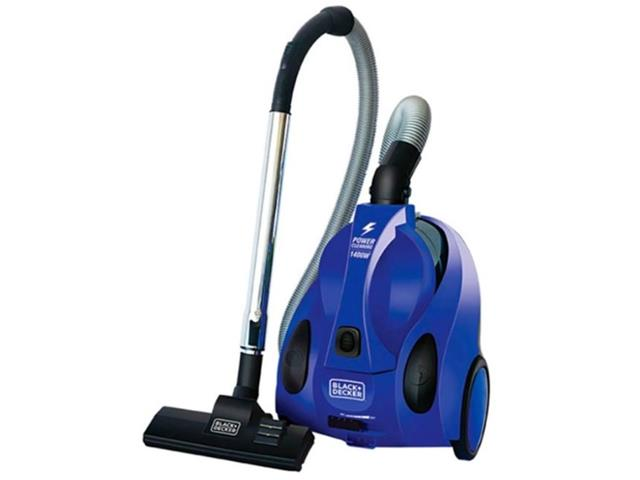 Aspirador de Pó Black & Decker Ciclônico Azul 110V