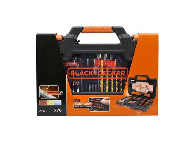Jogo para Furar e Parafusar Black & Decker 76 Peças - 2