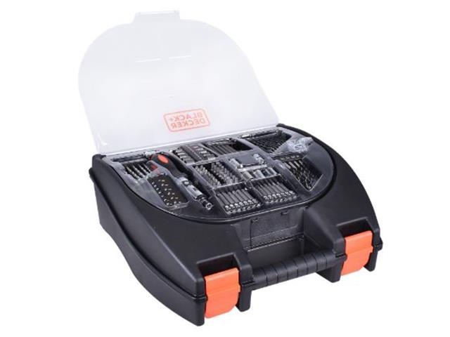 Furadeira Parafusadeira Black & Decker com Maleta 100 Acessórios - 4