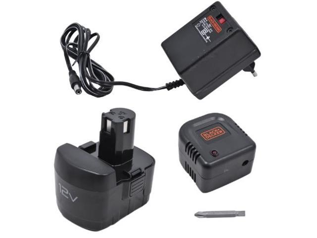 Furadeira Parafusadeira Black & Decker com 2 Baterias e Bolsa - 4