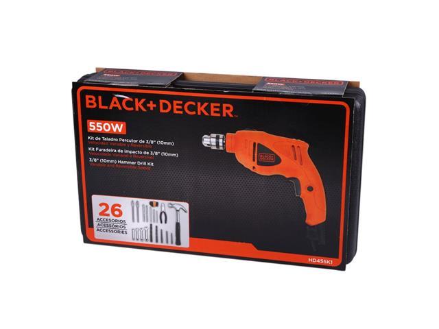 Furadeira de Impacto Black & Decker com Maleta e 26 Acessórios 220V - 2