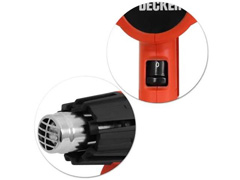Soprador Térmico Black & Decker 1800W com 5 Peças 110V - 3