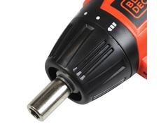 Parafusadeira à Bateria Dobrável Black & Decker com 16 Bits Bivolt - 2