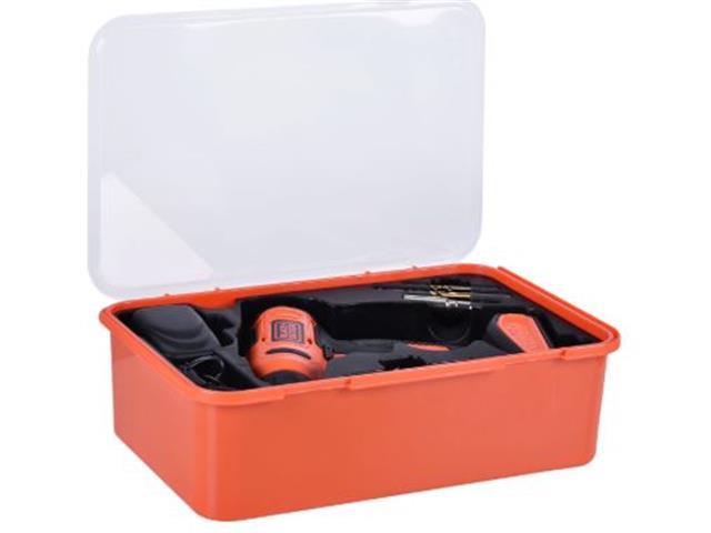 Parafusadeira e Furadeira Black & Decker Bateria 12V com 13 Acessórios - 3