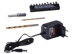 Parafusadeira e Furadeira Black & Decker Bateria 12V com 13 Acessórios - 2