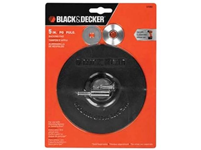 "Disco de Borracha Black & Decker com Adaptador Metálico 5"" - 1"