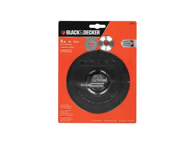 Disco de Borracha 5 Pol. com Adaptador Metálico U1302 BLACK+DECKER