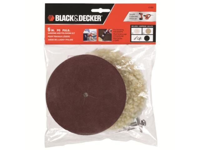 Jogo para Polir e Lixar Black & Decker 4 Peças - 1