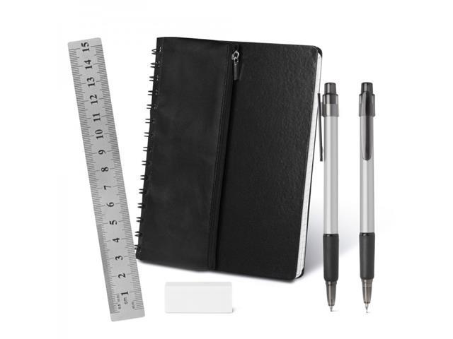 Caderno de Anotações com Acessórios