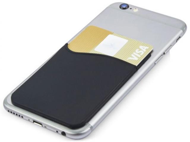 Porta Cartões em Silicone para Smartphone Sortido - 1
