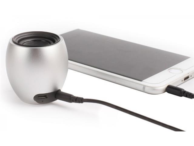 Caixa Acustica 3W Bluetooth Recarregável Sortida - 1