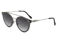 2c01f7097 Óculos de Sol Colcci Preto com Dourado com Lente Cinza Degradê