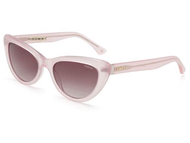 Óculos de Sol Colcci Rosa Pálido com Lente Marrom Degradê