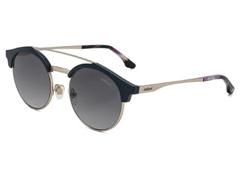 8ba607bd8fd3f Óculos de Sol Colcci Tarsi Azul Escuro com Lente Cinza Degradê
