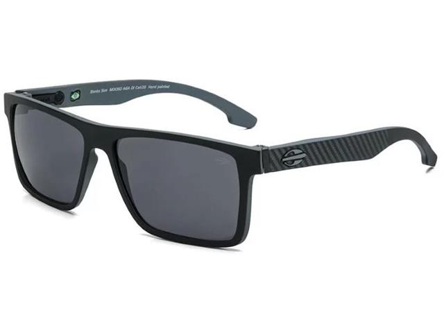 b5a3f4893 Óculos de Sol Mormaii Banks Preto Parede Cinza com Lente Cinza