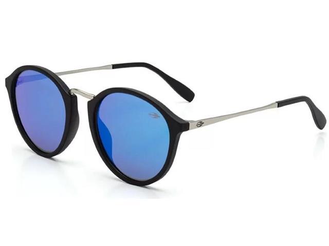 Óculos de Sol Mormaii Cali Preto Fosco com Lente Revo Azul Ice