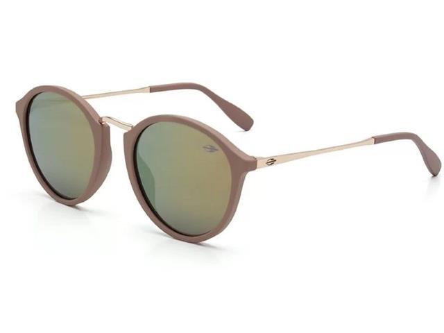 Óculos de Sol Mormaii Cali Nude Fosco com Lente Dourado Ocre 5e5f786d42