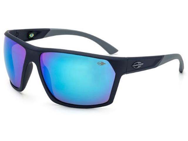 Óculos de Sol Mormaii Storm Azul Escuro com Lente Revo Azul Ice