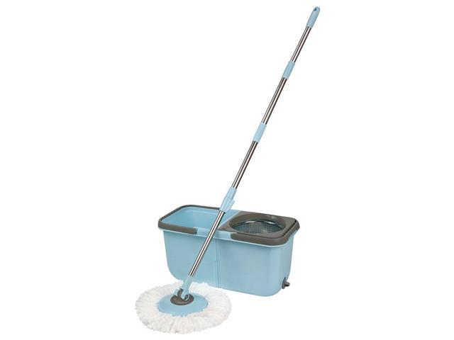 Esfregão Mop Limpeza Prática MOR 8297 com Balde