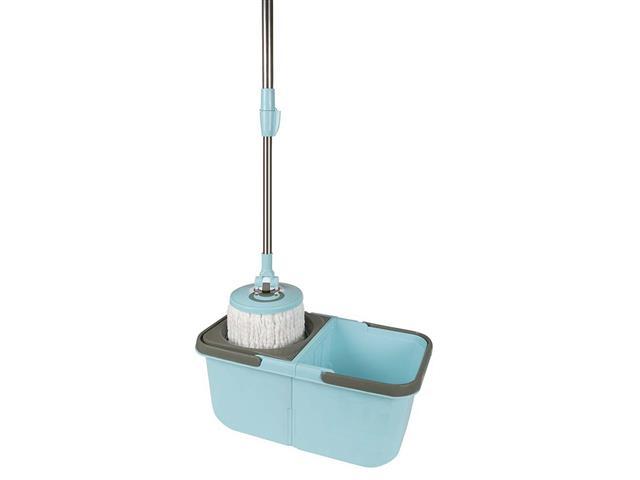 Esfregão Mop Limpeza Prática MOR 8297 com Balde - 1