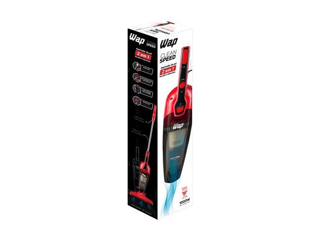 Aspirador WAP Clean Speed 1000W Vermelho 110V - 7