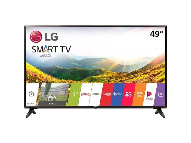"Smart TV LED 49"" LG Full HD Conv.TV Digital webOS 3.5 Wi-Fi 2HDMI 1USB"