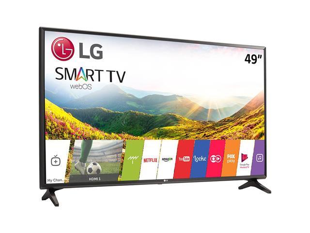 "Smart TV LED 49"" LG Full HD Conv.TV Digital webOS 3.5 Wi-Fi 2HDMI 1USB - 1"