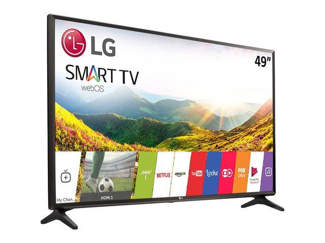"Smart TV LED 49"" LG Full HD Conv.TV Digital webOS 3.5 Wi-Fi 2HDMI 1USB - 2"