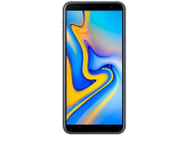 "Smartphone Samsung Galaxy J6+ 32GB Duos 4G Tela 6"" Câm. 13MP+8MP Prata - 1"