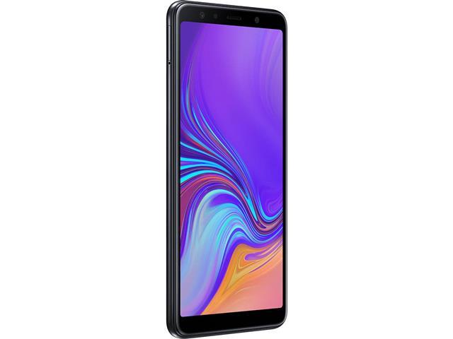 "Smartphone Samsung Galaxy A7 2018 64GB Duos 4G Tela 6"" Câm. 24MP Preto - 1"