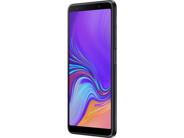 "Smartphone Samsung Galaxy A7 2018 64GB Duos 4G Tela 6"" Câm. 24MP Preto - 2"