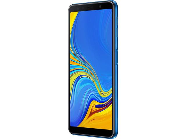"Smartphone Samsung Galaxy A7 2018 64GB Duos 4G Tela 6"" Câm. 24MP Azul - 2"