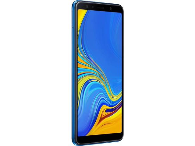 "Smartphone Samsung Galaxy A7 2018 64GB Duos 4G Tela 6"" Câm. 24MP Azul - 1"
