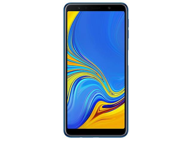 "Smartphone Samsung Galaxy A7 2018 128GB Duos 4G Tela 6"" Câm. 24MP Azul - 1"