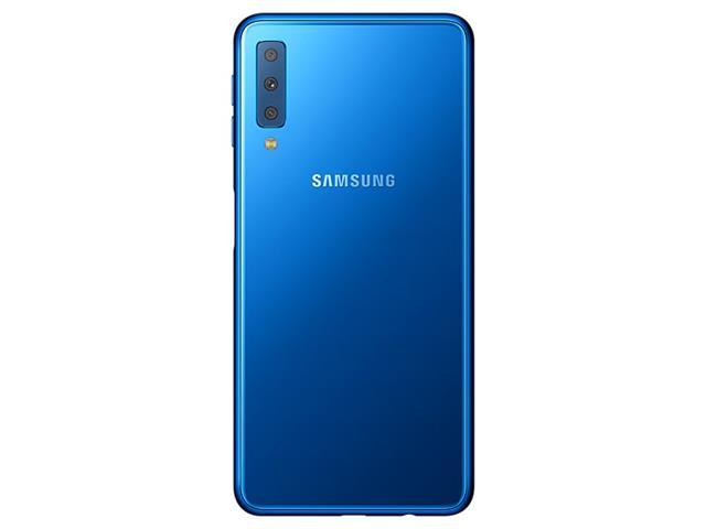 "Smartphone Samsung Galaxy A7 2018 128GB Duos 4G Tela 6"" Câm. 24MP Azul - 4"